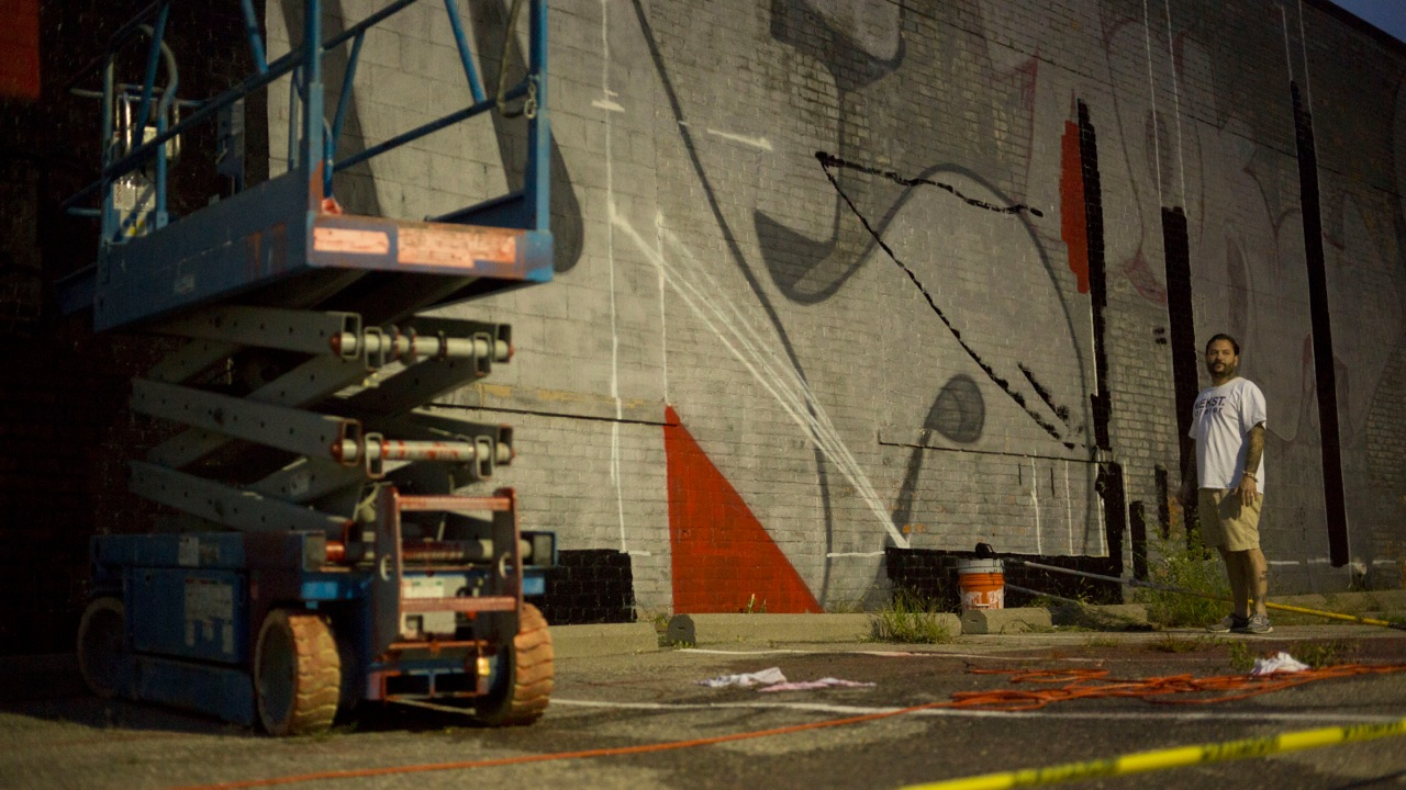 striking murals tribute graffiti artist nekst detroit