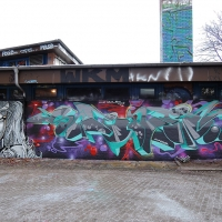 Wednesday Graffiti Walls Spraydaily 002_Scene & Asher PHOTO @extase_wkm