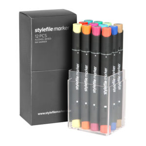 Stylefile Marker 12er Set Main B_SFS12MB_01