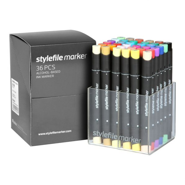 Stylefile Marker 36-Set Main A