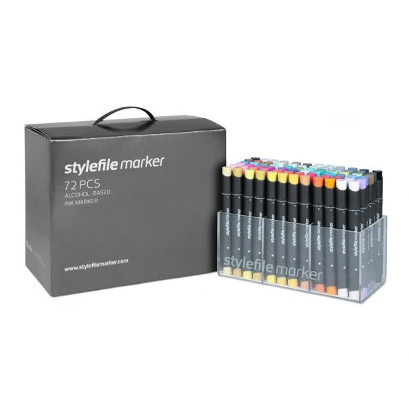 Stylefile Marker 72-Set Main A