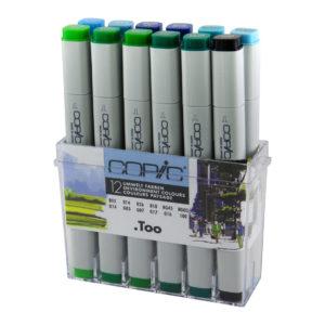 Copic Classic 12 set Environment Colours_4013695257112_