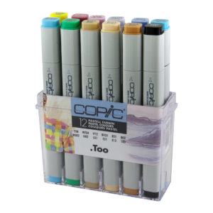 Copic Classic 12 set Pastel Colours_4013695257129_