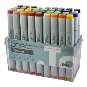 Copic Classic 36 set Basic Set 4511338019016_