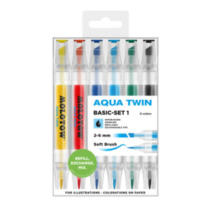 Molotow AQUA TWIN Basic-Set 1_729301