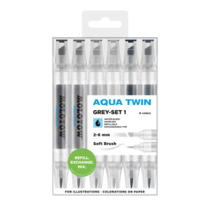 Molotow AQUA TWIN Grey-Set 1_729303