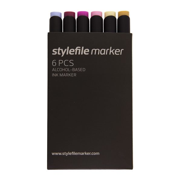 Stylefile Marker Classic Try Out 6-set