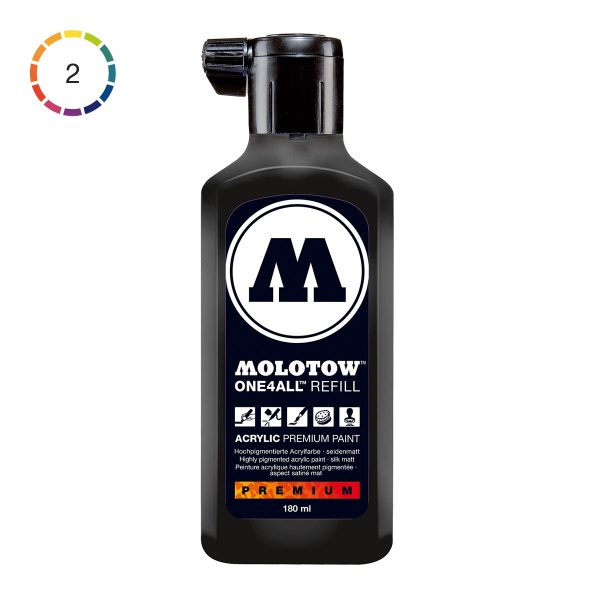 Molotow ONE4ALL Acrylic Refill 180 ml