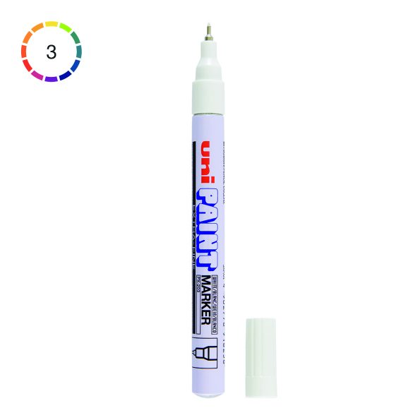 Uni Paint Marker PX-203 Extra Fine, 0.8 mm