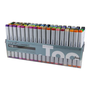Copic Classic Marker 72 Set Basic A_4511338002230