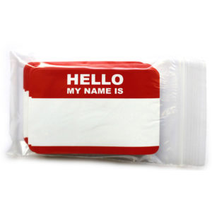 Hello My Name Is Sticker 50 pcs_pc12y00101_