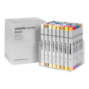 Stylefile Marker Brush 48 set Extended_4260416610712_01