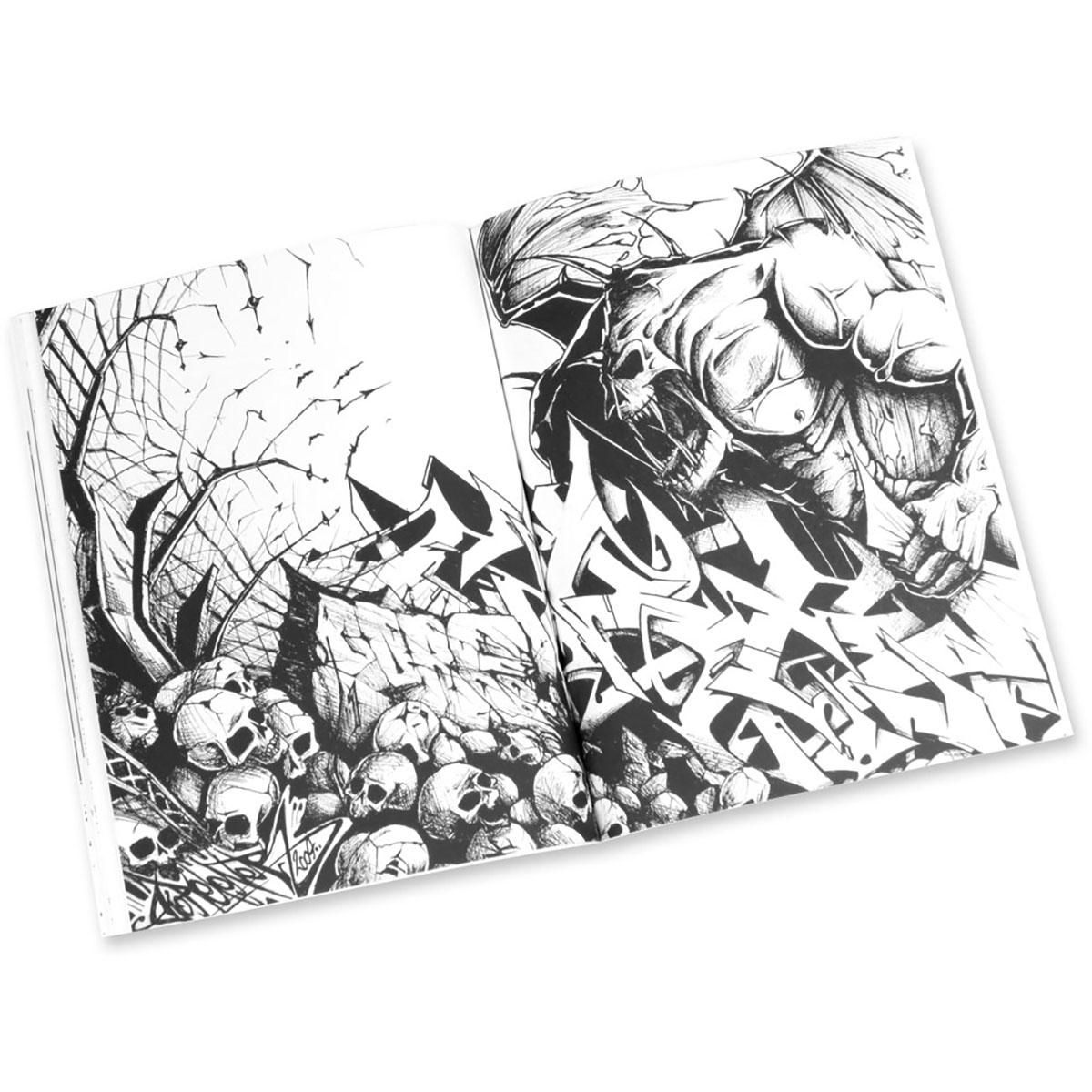 Graffiti Coloring Book 2 Characters